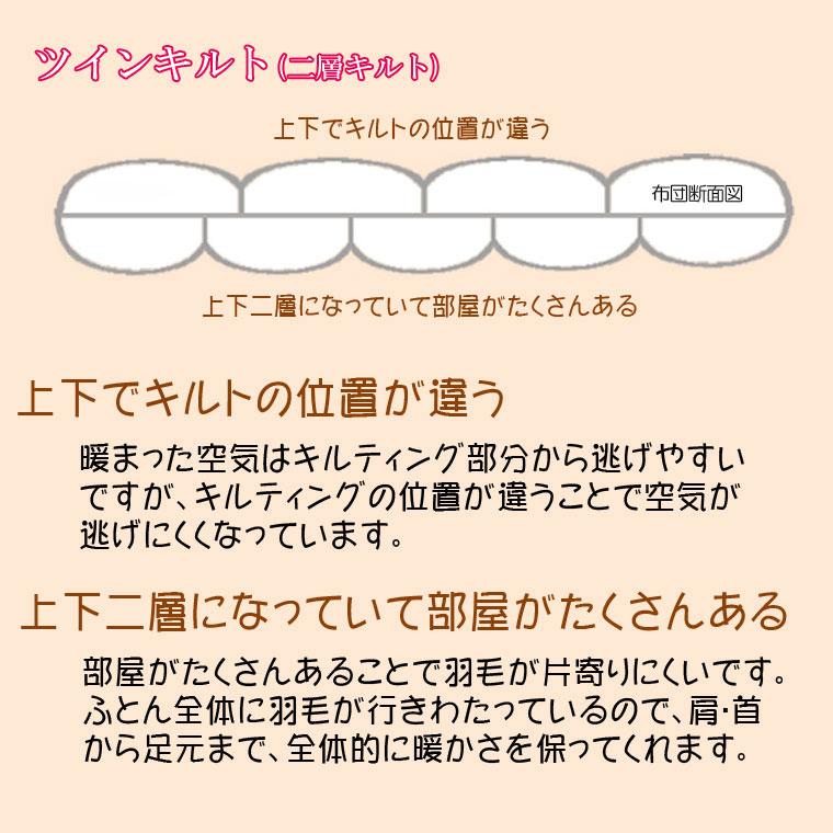 西川羽毛布団ダウン93%