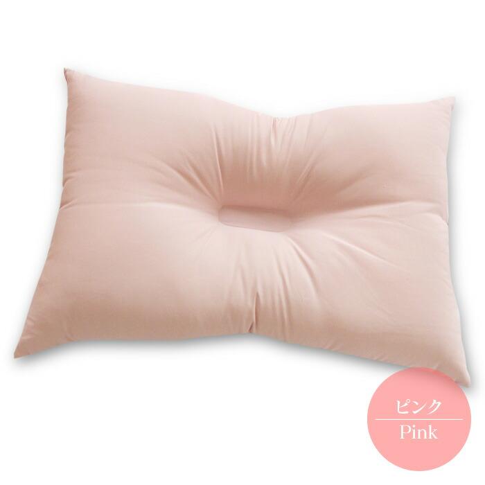 西川の洗える枕-ピンク-06