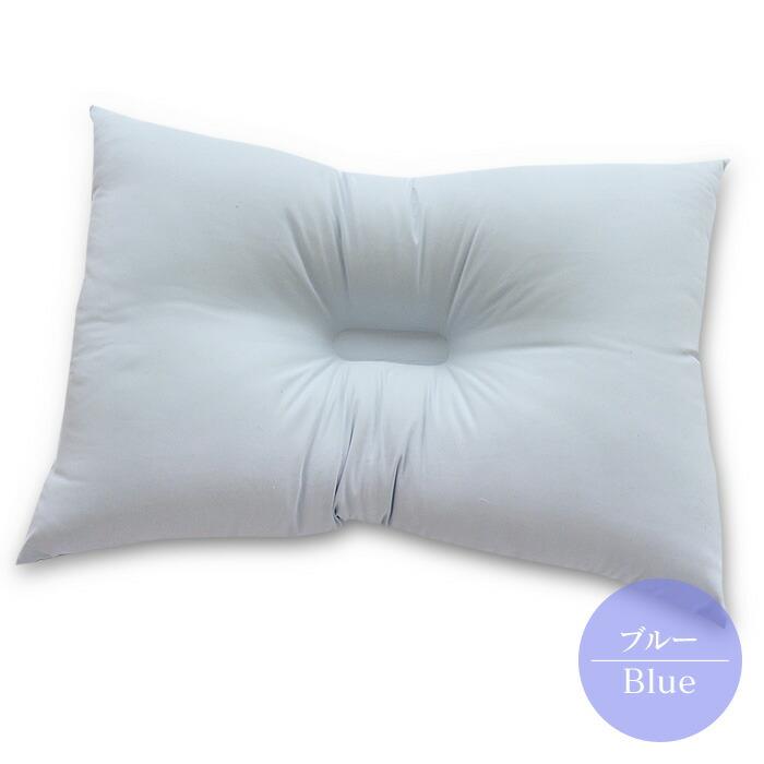 西川の洗える枕-ブルー-07