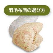 羽毛布団選び方