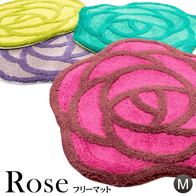 フリーマット Mサイズ 58×60cm SDS 「ローズ」 ROSE バラ柄