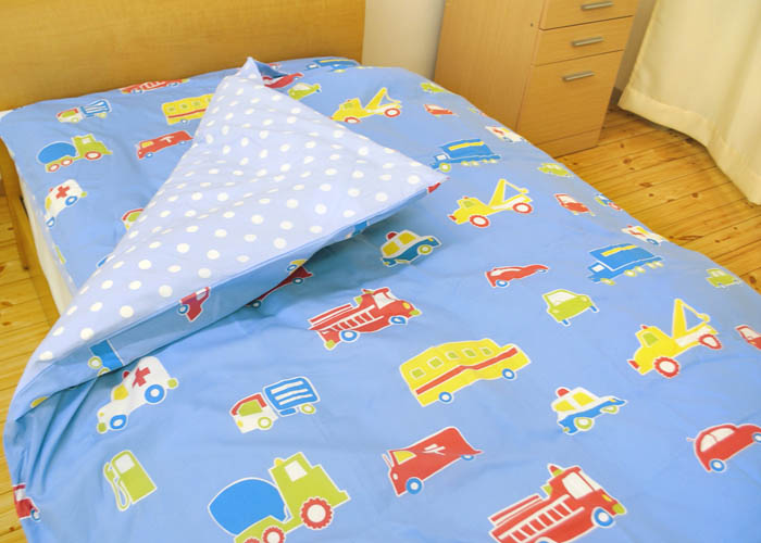 Kodawari Anminkan Westy オズボーイ Quilt Cover Kids Junior