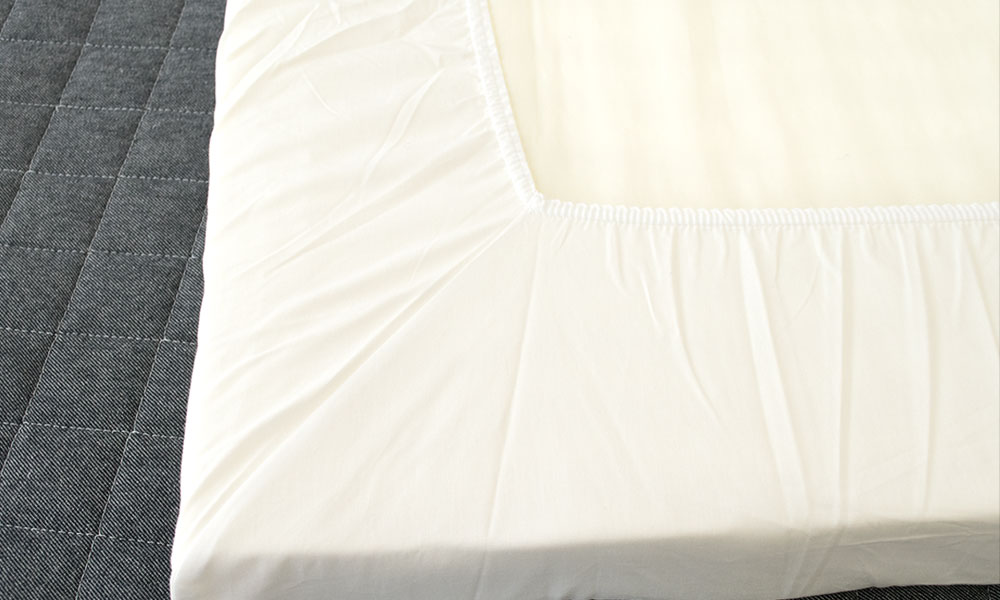 西川リビング固綿敷きふとん用シーツ