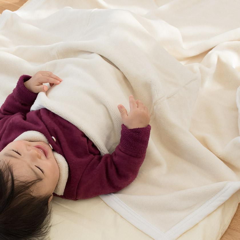 ベビー綿毛布
