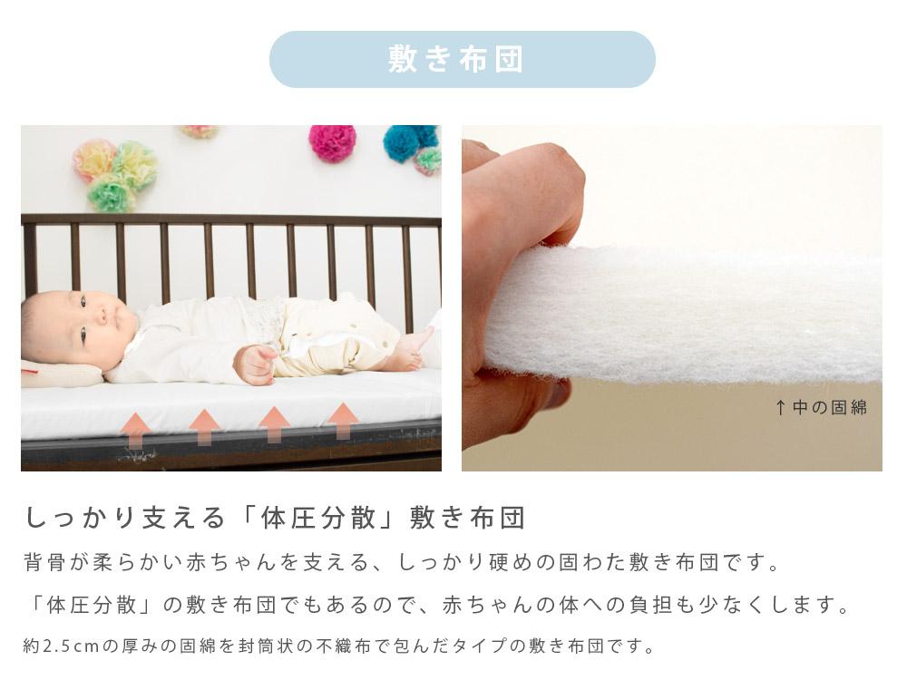 しっかり固綿敷き布団