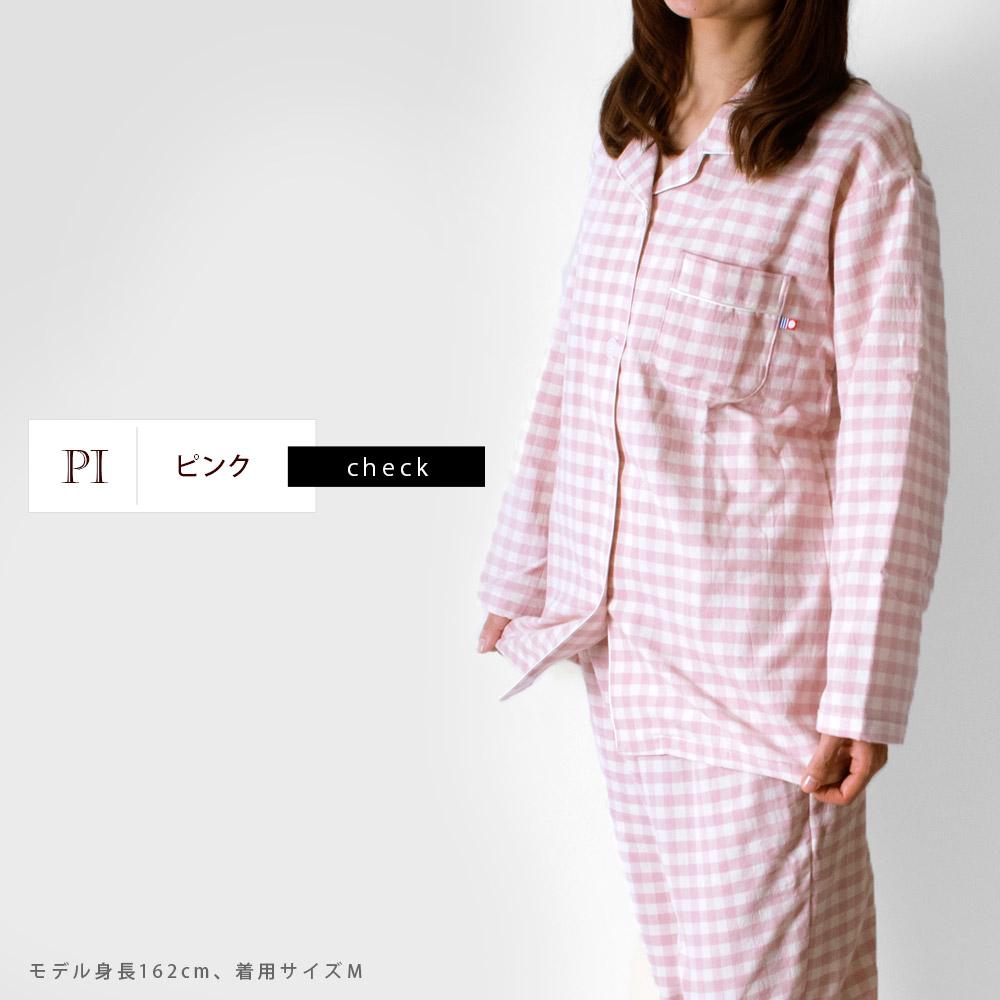 チェック/ピンク