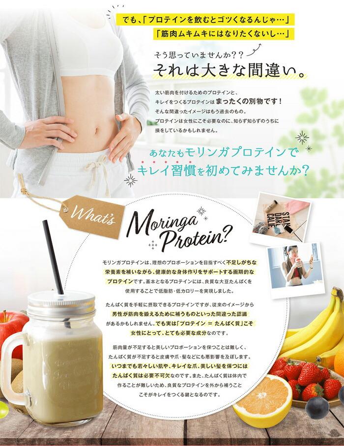 モリンガプロテイン 置き換えダイエット 3種類ミックス 4袋x3セット