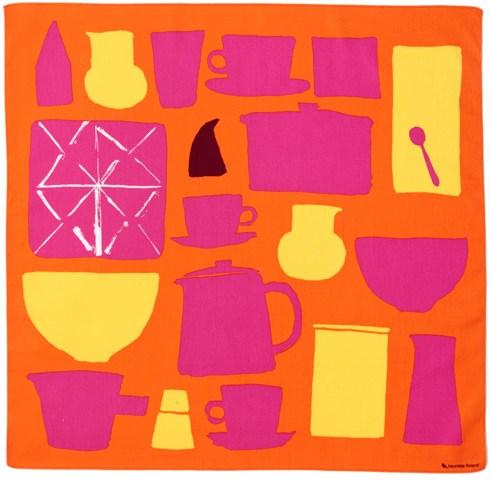1)アスティアスト(Astiasto)食器たち/オレンジ