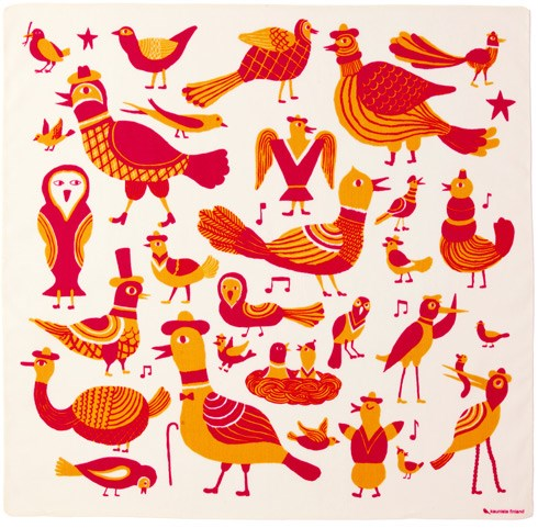 5)ラウルリンヌット(Laululinnut)鳥の歌/オレンジ