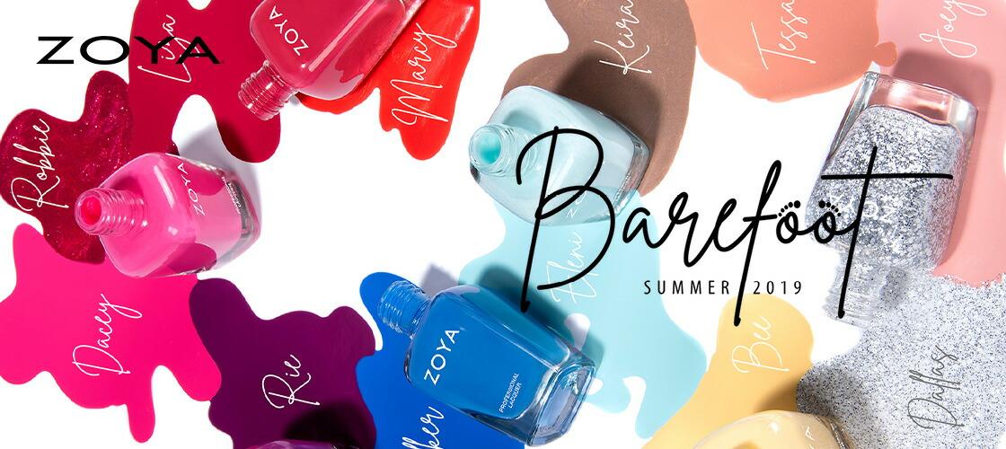 ZOYA (ゾーヤ) SUMMER 2019「Barefoot」