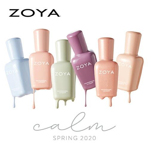 ZOYA SPRING 2020「CALM」