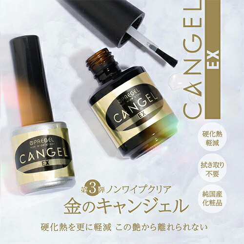 PREGEL ノンワイプクリア キャンジェル EX!