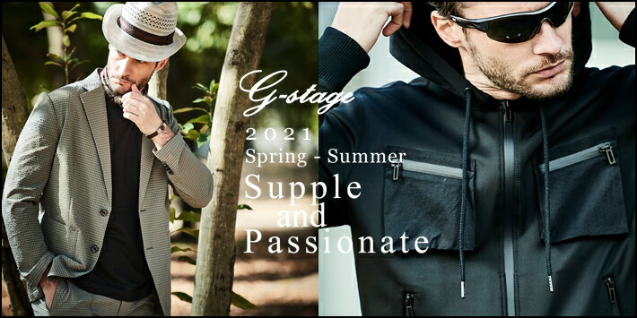 G-STAGE 2021 Spring-Summer Collection