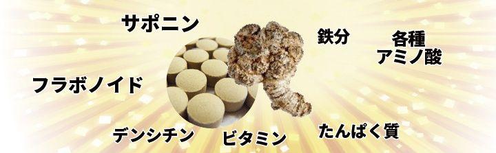 田七人参の成分1