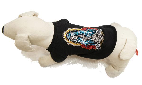 犬用Tシャツ スカルマリア