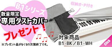 数量限定 KORG B1シリーズ 専用ダストカバー プレゼント