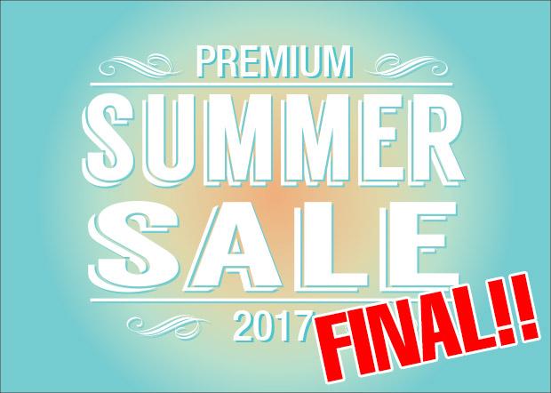 2017 GAKU PREMIUM SUMMER SALE