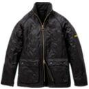 BarbourMQU0422 POLARQUILT Jacket SL ポーラー キルト ジャケット スリム Black