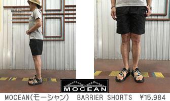MOCEAN(モーシャン)USA製 BARRIER SHORTS