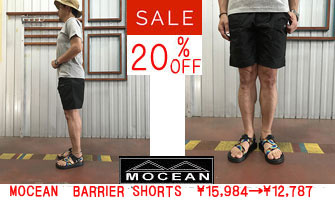 MOCEAN(モーシャン)USA製 BARRIER SHORTS