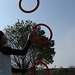 ジャグリングリング