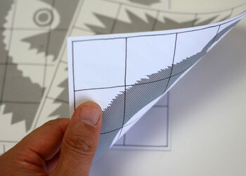 naef/ネフ社 アニマルパズル カンニングペーパー 裏表両面有りで6種類