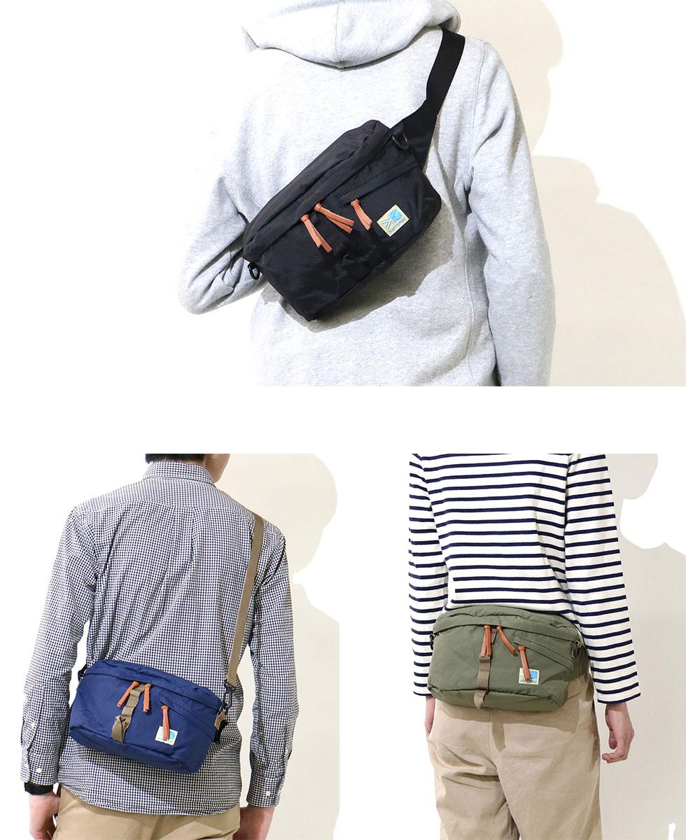 GALLERIA Bag-Luggage  karrimor 2WAY VT hip bag CL waist bag body bag ... 5d6cf932376d8
