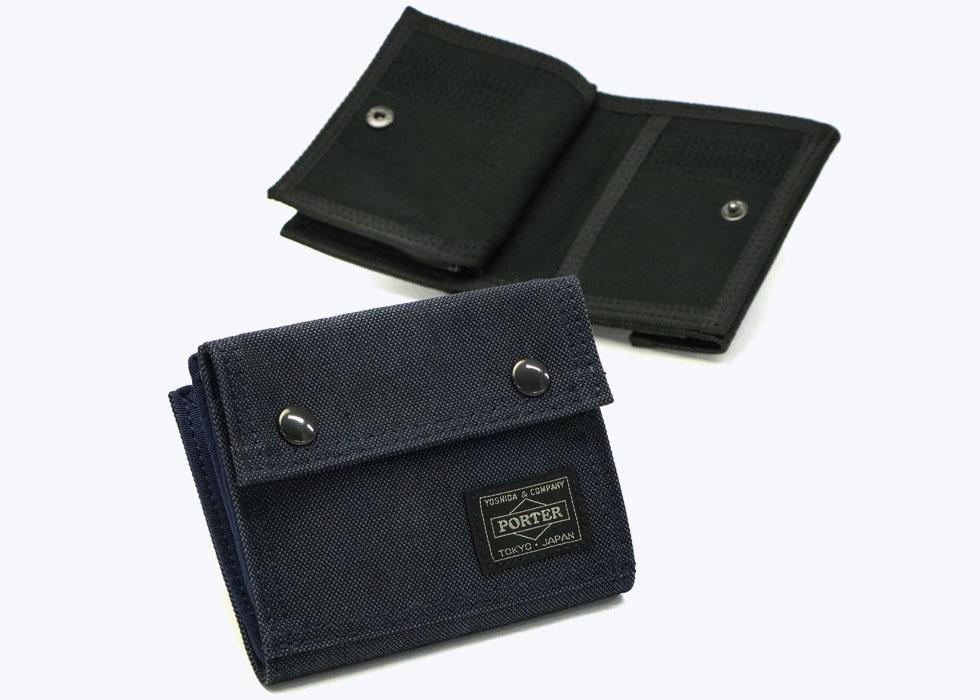PORTER/ポーター スモーキーウォレット 二つ折り財布