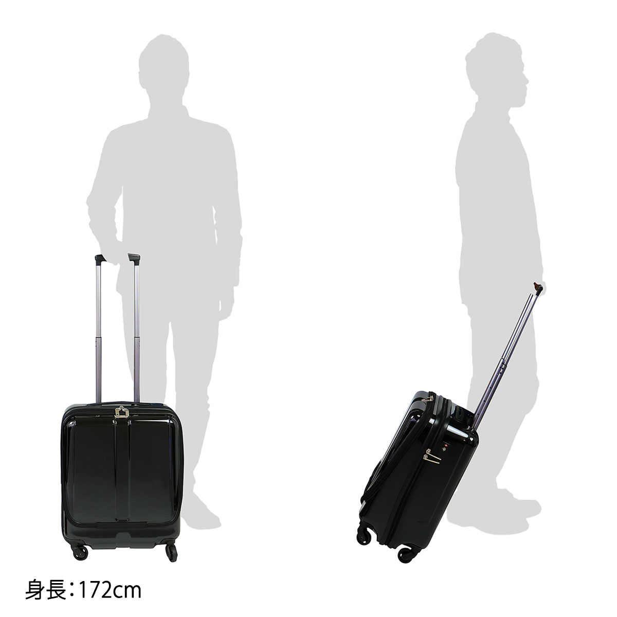 World Traveler suitcase 38L 05810