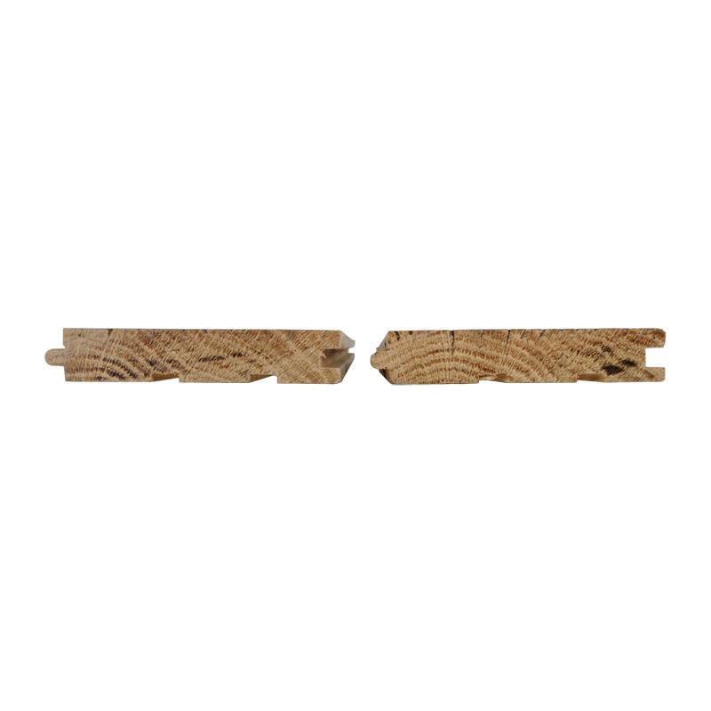 木口。サネ、反り止め加工済みです。
