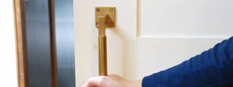 7505-50 ラウンド・グリップ・ドア・ハンドル 全3色
