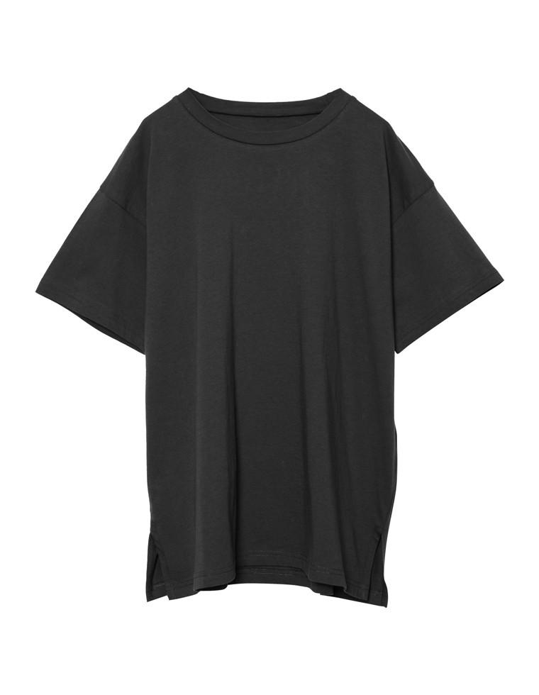 [お家で洗える][人と地球に優しい]シンプルビッグTシャツ