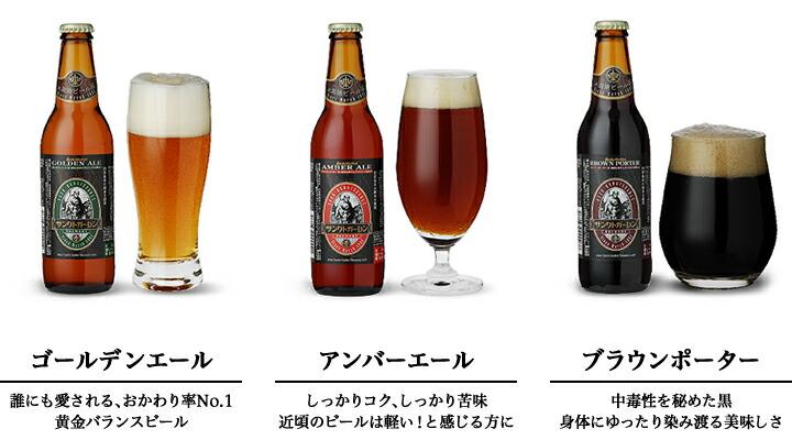 金賞ビール3種 セット内容