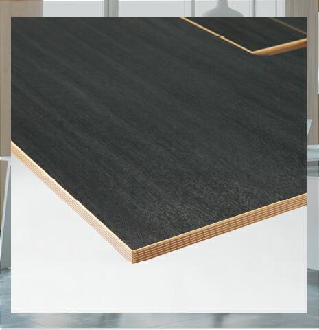 天板カラー ブラック木目 指紋レス
