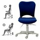 売れ筋 腰痛対策事務椅子 OC PLUS社