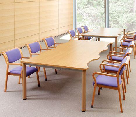 AICO ぬくもりのミーティングテーブル NST-2412