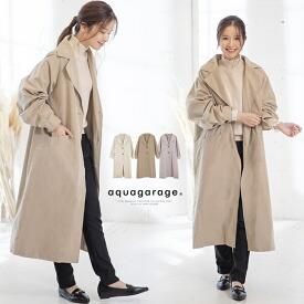 ラグランボリューム袖コート