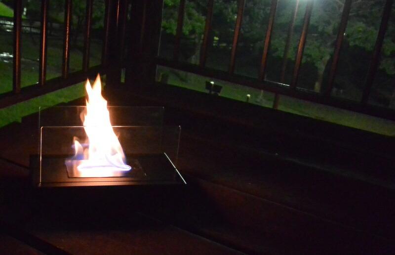 ガレージ・ゼロ バイオエタノール暖炉