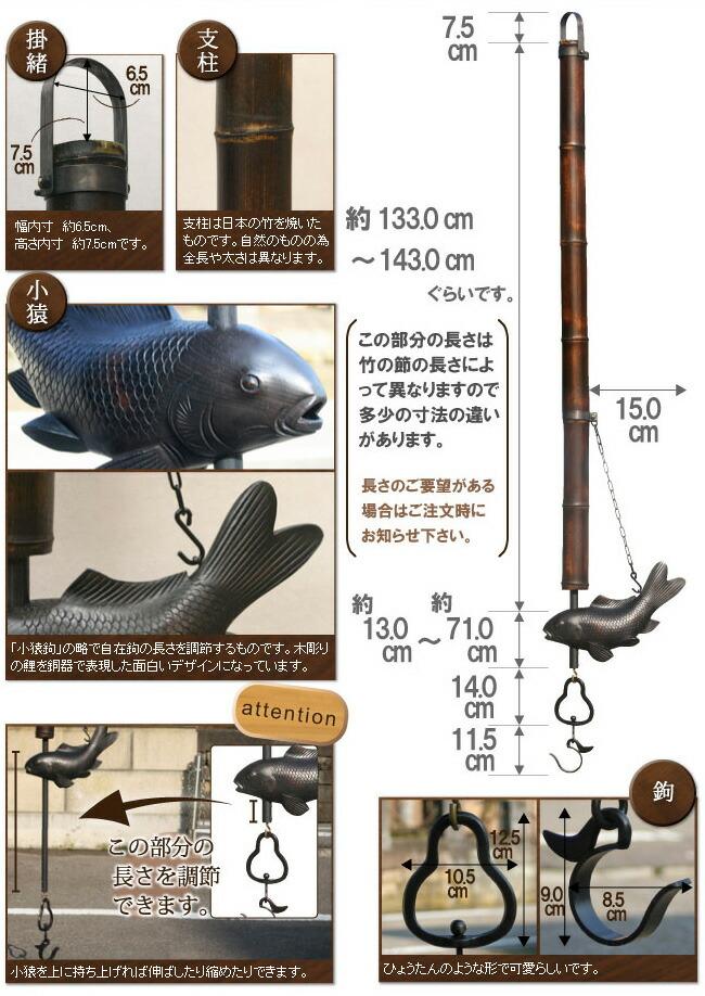 自在鉤鯉 詳細