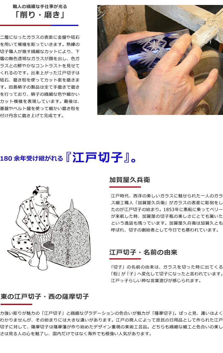 180余年受け継がれる江戸切子の歴史