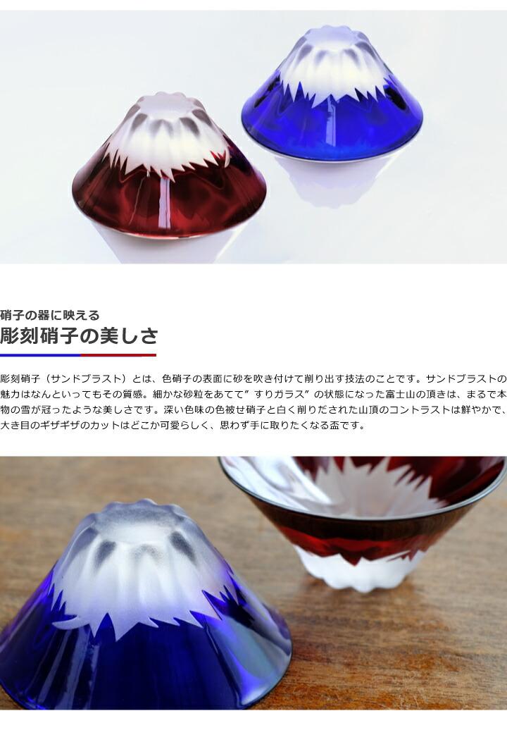 江戸硝子 富士山祝盃の魅力