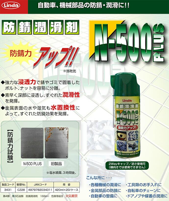 防錆潤滑剤N-500プラス