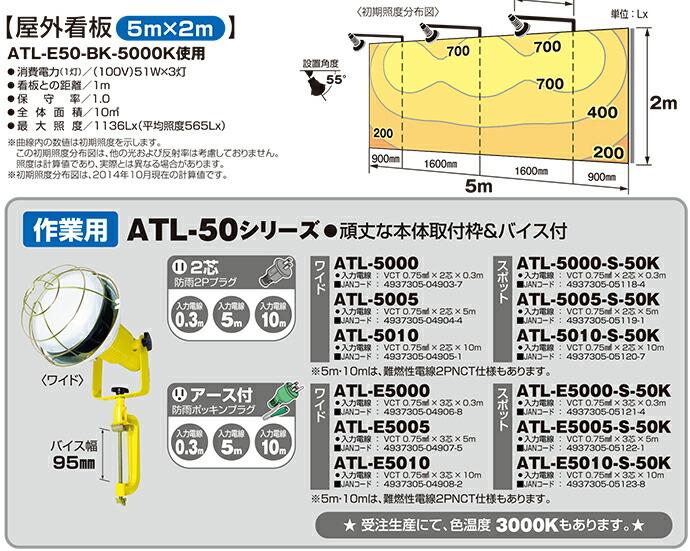 ATL-5000仕様表02