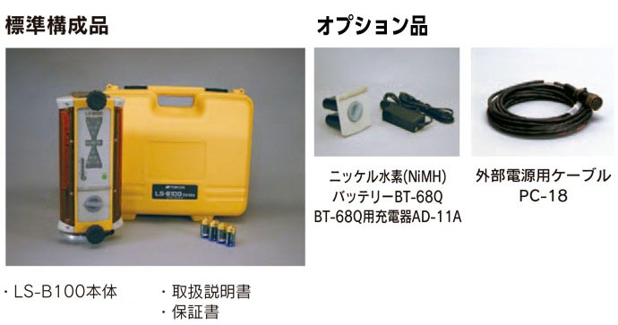 LS-B100 標準構成品