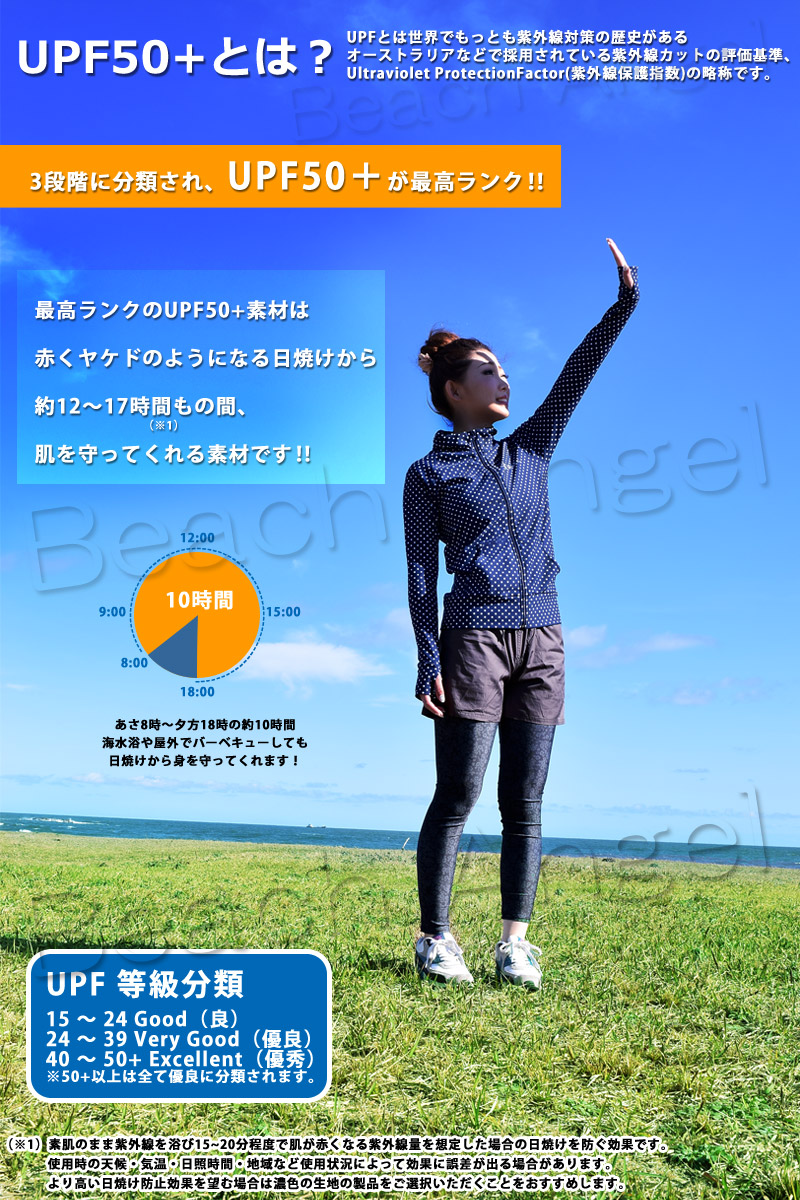 UPF50+ とは 紫外線 日焼け防止