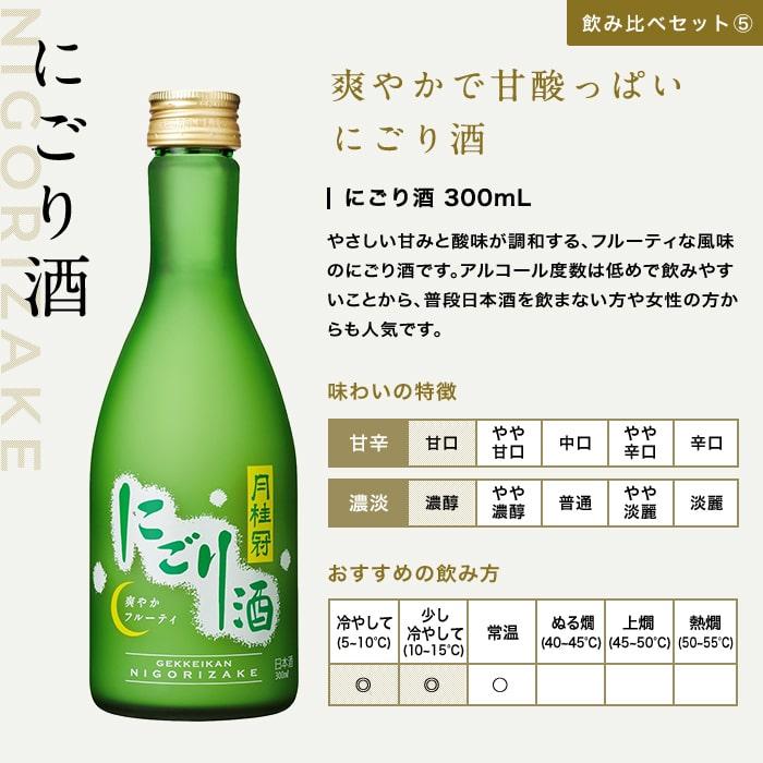 父の日日本酒飲み比べセット