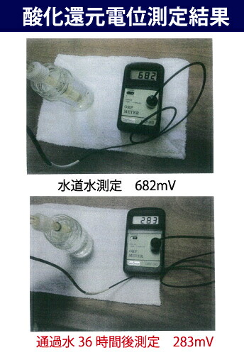酸化還元電位測定結果