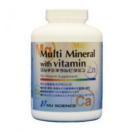 マルチミネラル<br>ビタミン