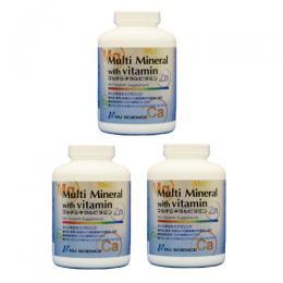 マルチミネラルビタミン3個セット