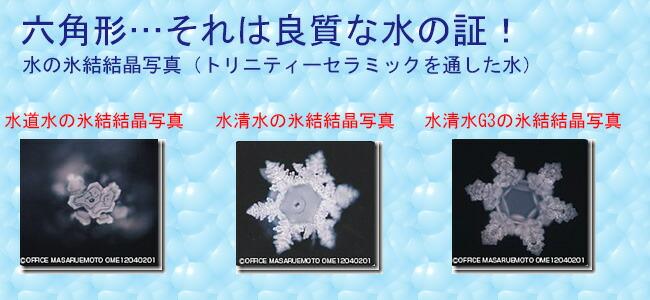 水清水G3氷結結晶写真
